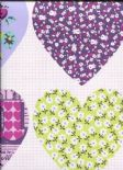 Imagine What You Can Do Wallpaper Patchwork Heart 668501 By Arthouse For Options